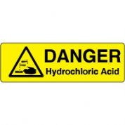 Markers safety sign - Hydrochloric Acid 009